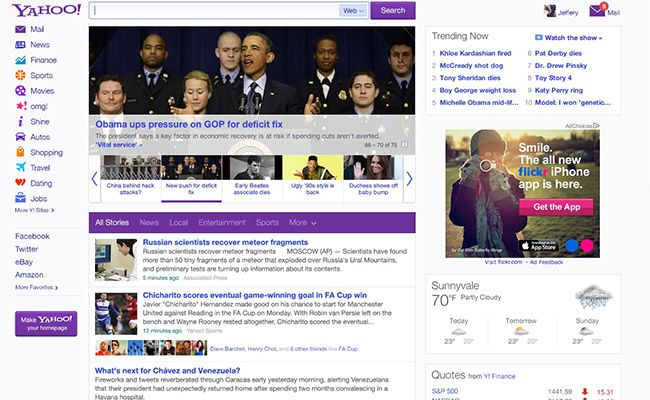 #Yahoo NEW Design