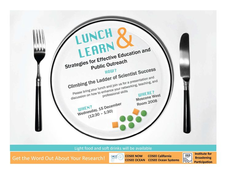 Lunch Learn Flyer Lunch Learn Marketing Printable Invitation Templates