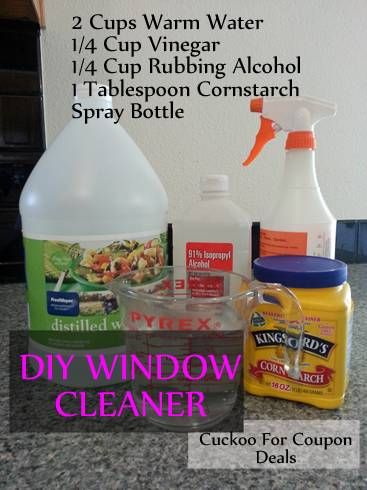 Homemade Window Cleaner: Just Like Windex | Coupons