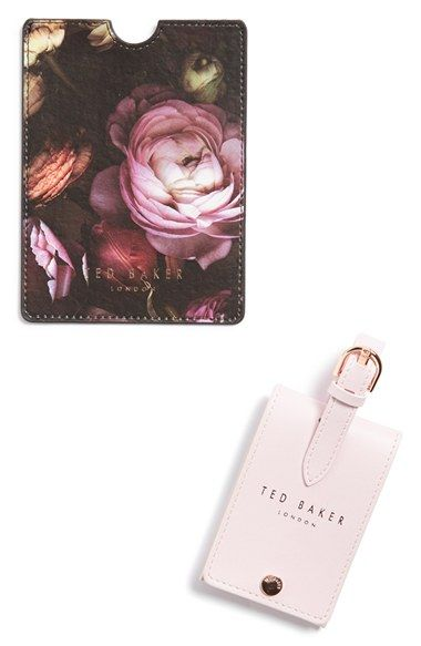 WILD AND WOLF Ted Baker London Luggage Tag & Passport Holder available at #Nordstrom