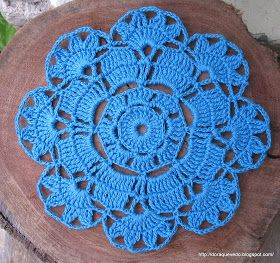 Doily diagram pattern