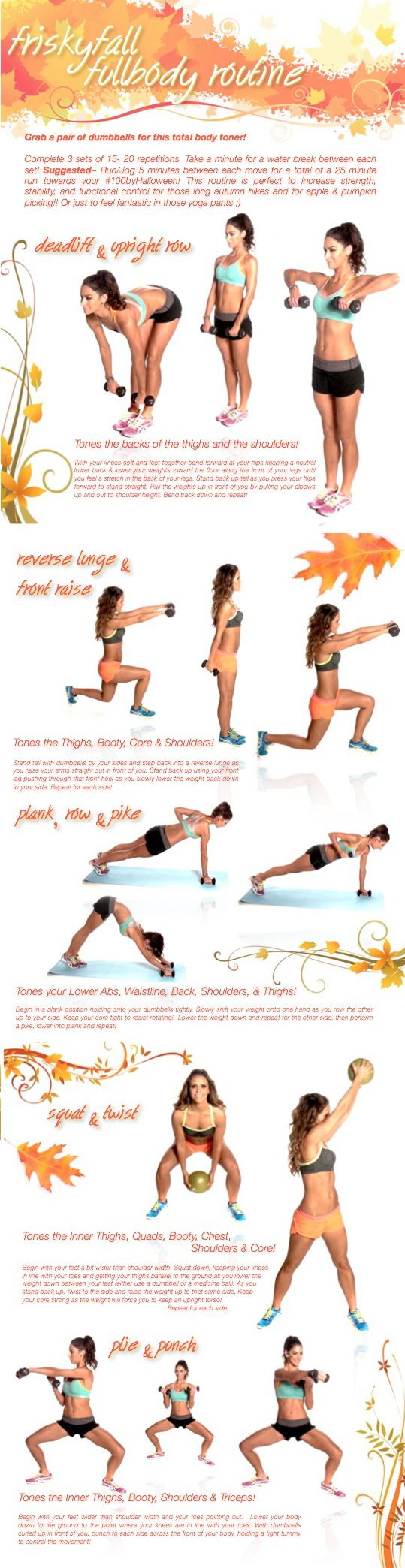 Full Body Workout via Tone It Up