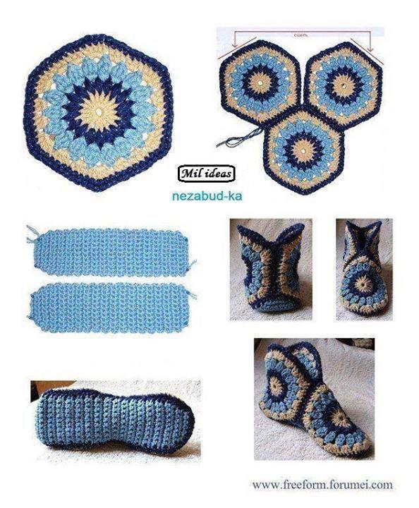 Mejores 12 imágenes de Ideas al crochet en Pinterest | Patrones de ...