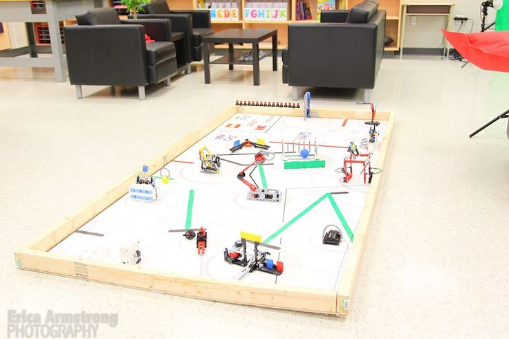 First Lego League challenge table.