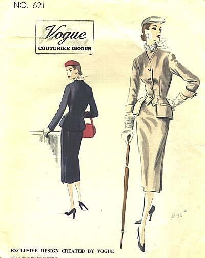 '50s Skirt and Jacket Suit
