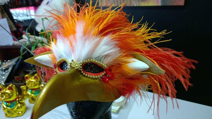 Fireys Labyrinth Inspired Mask by ChristinesPlace2015 on Etsy https://www.etsy.com/listing/231062840/fireys-labyrinth-inspired-mask