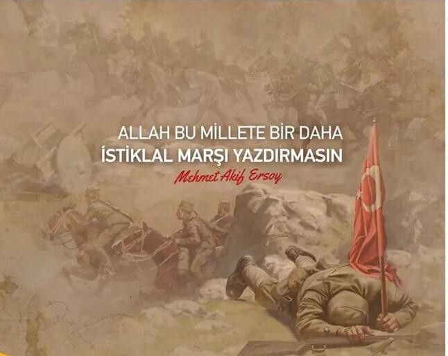 12 Mart 1921 Istiklal Marşımızın Kabulü. RABBİM bir daha bu millete istiklal marşı yazdırmasın... Mehmet Akif Ersoy
