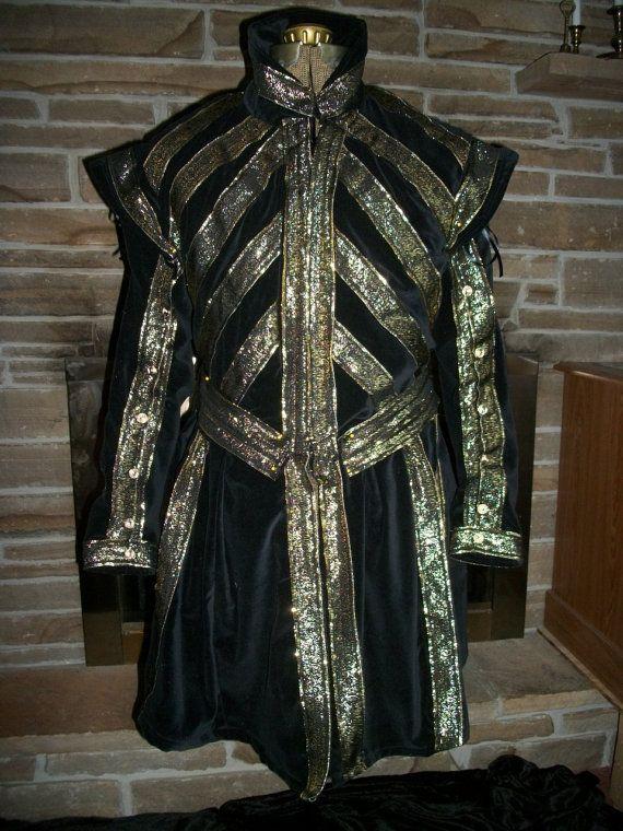 Custom made Tudors style jerkin doublet Renaissance by sugar352, $250.00