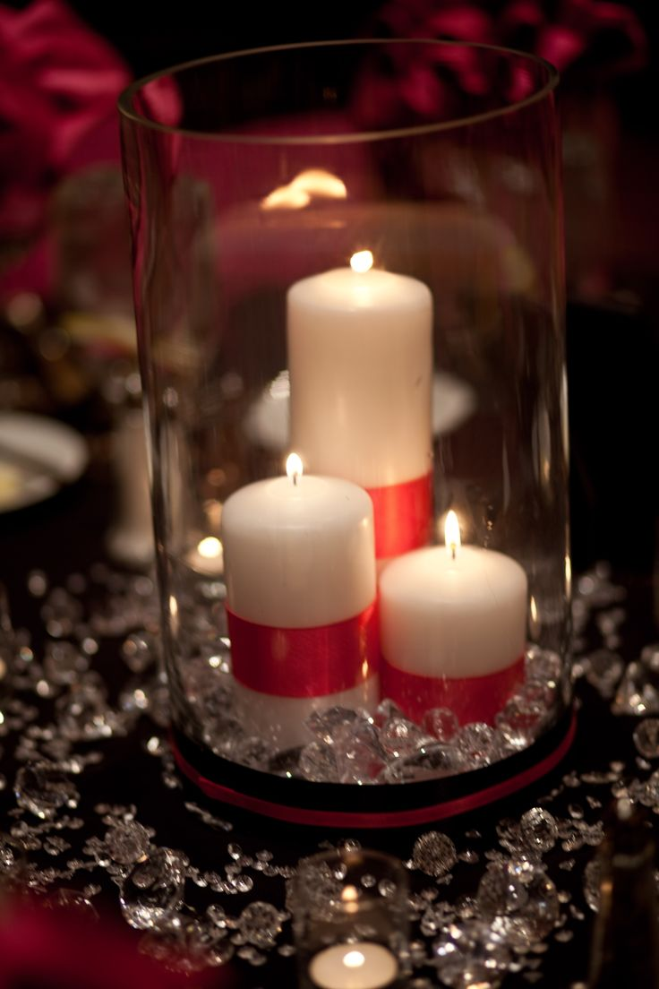 82 best images about creative centerpieces on pinterest for Creative candle centerpiece ideas