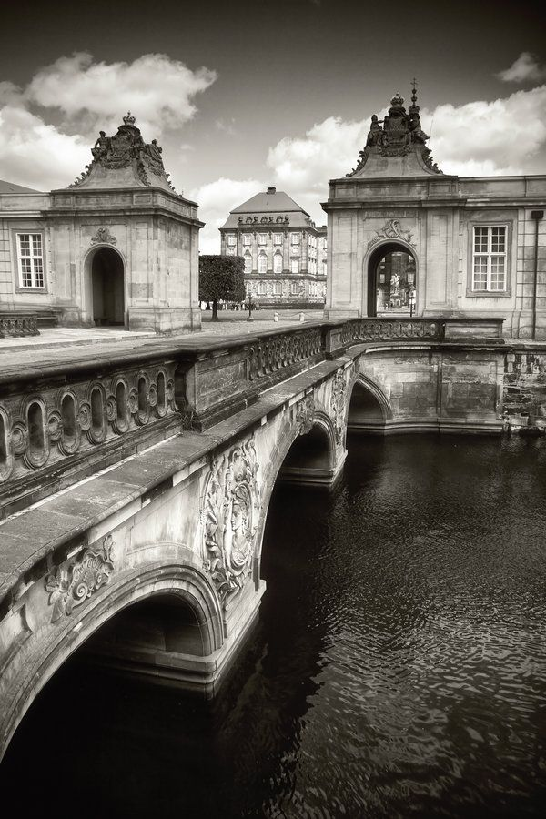 Bridge in the center of Copenhagen and the Copenhagen Canals Copenhagen #black #white #bridge - Loved by @Andy Denmark House