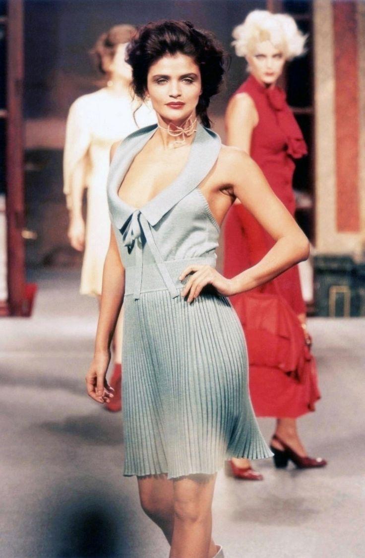 Helena Christensen - Vivienne Westwood Spring/Summer 1996