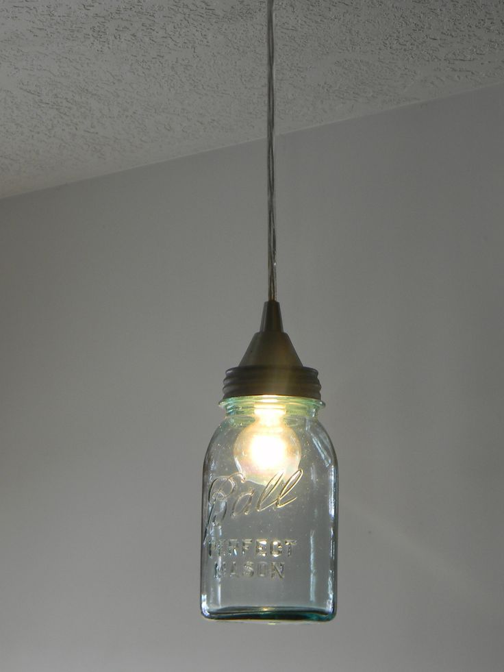 1000 ideas about mason jar lighting on pinterest mason for Hanging lights made from mason jars