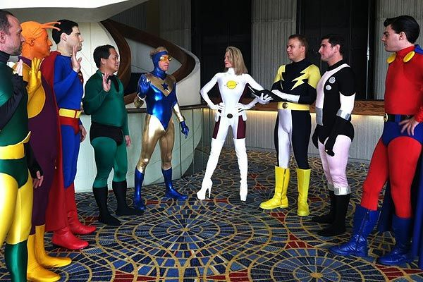 Legion of superheroes cosplay