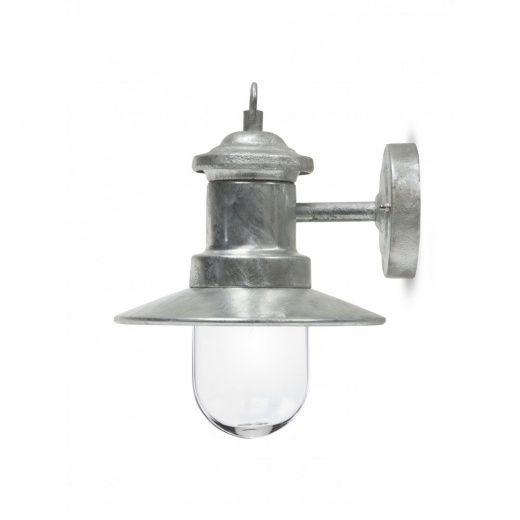 Garden Trading St Ives Ships Light Galvanised Lamp - Garden Trading from Hurn & Hurn UK