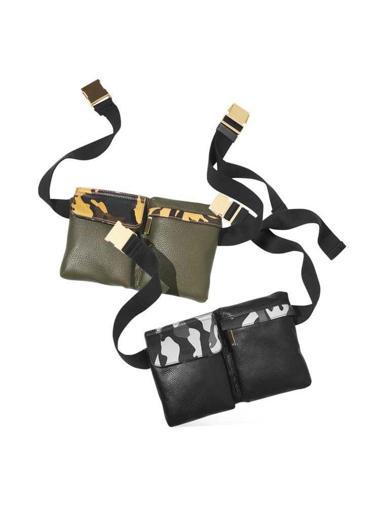 QVC creative director of G.I.L.I. and Today contributor Jill Martin combined sophisticated design, camouflage accents, multiple zip pockets and RFID technology to make one seriously fab travel fanny pack.