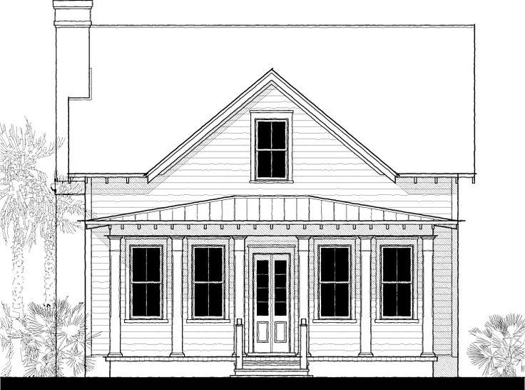 Edisto river cottage house plans for Calabash cottage floor plan