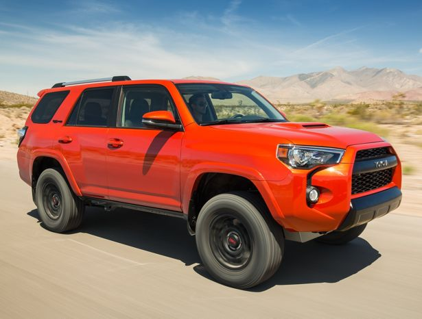 2015 Toyota 4Runner TRD Pro. Check out Toyota's 2015 vehicle line up, some of which will be displayed at the 2015 Calgary International Auto & Truck Showcase  For more information visit us online at: www.autoshowcalgary.com