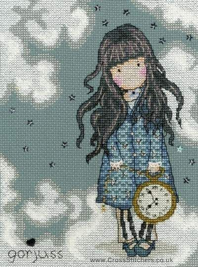 Gorjuss - The White Rabbit - Cross Stitch Kit from Bothy Threads