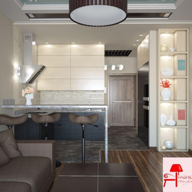 Küçük Ve Şirin Stüdyo Daire Dekorasyonu | Fashion Decoration, Home House Decoration Style