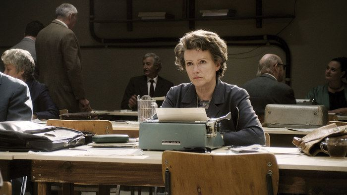 """Back by popular demand: HANNAH ARENDT @ Vancity Theatre Aug 10 - Aug 18. """"A thrilling lesson in courage."""" — Deborah Young, Hollywood Reporter Trailer: http://www.zeitgeistfilms.com/hannaharendt/"""