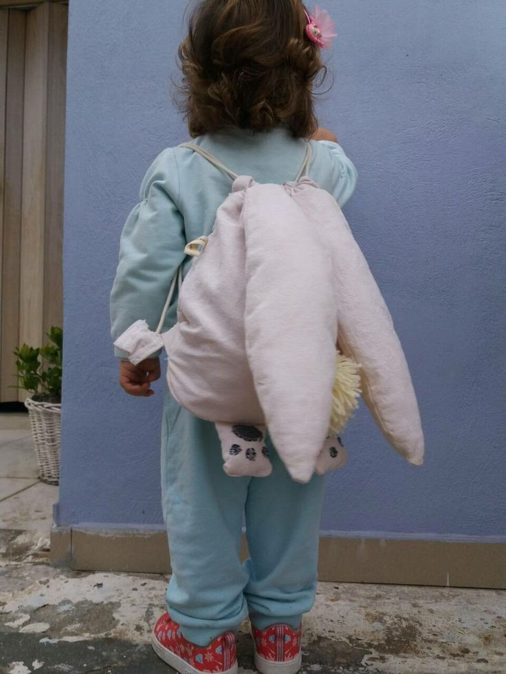 Handmade Bunny backpack