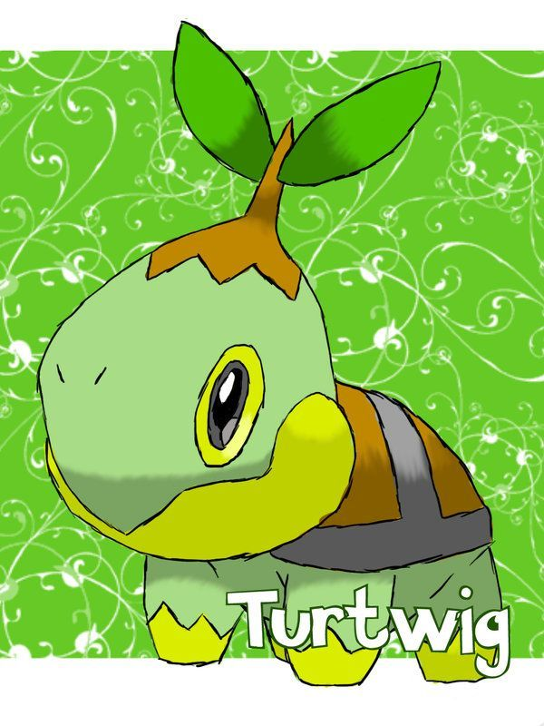 Pokemon Hd Wallpaper × Turtwig wallpaper Wallpapers