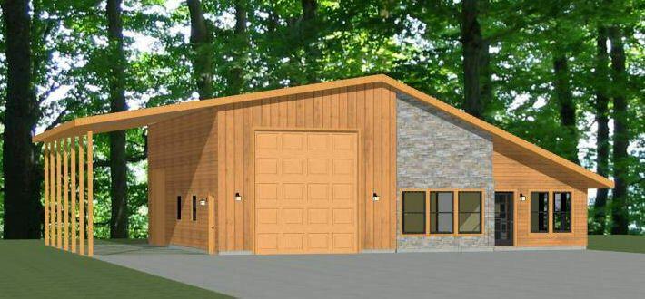 46x48 House 2 Bedroom 2 Bath 1 Rv 1 157 Sqft Pdf Floor Plan Model 2a Floor Plans Garage Floor Plans House