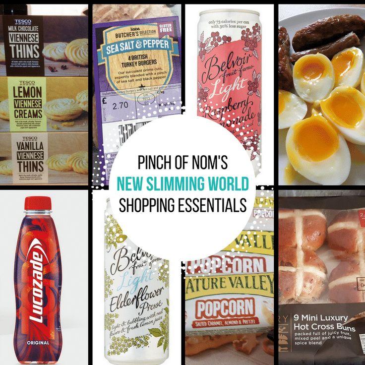 New Slimming World Shopping Essentials – 3/3/17