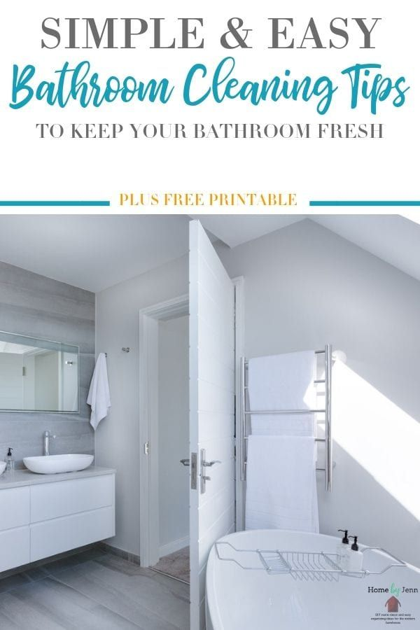 Simple Bathroom Cleaning and Sanitizing Tips You Can Use