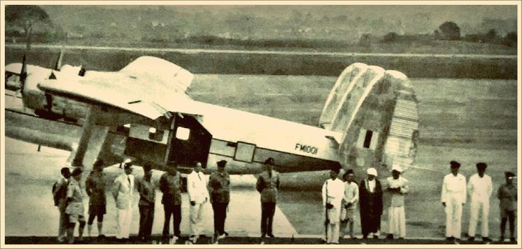 """17 April 1958 - The Royal Malaysian Air Force received its first aircraft the Scottish Aviation Twin Pioneer at the RAF Base Kuala Lumpur (known also as sungei Besi Airport / Base). This first aircraft for the fledgling air force was named """"Lang Rajawali"""" by the then Prime Minister Tunku Abdul Rahman. With registration FM1001"""
