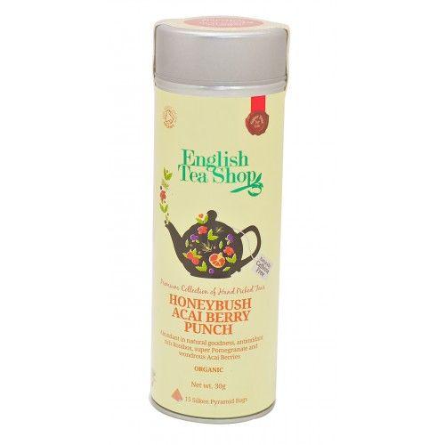 #Infusion #Honeybush #Baies d'#Acai #Bio / #Organic : Avec les #vertus #antioxydantes du #rooibos, les #superbes #grenades et les #merveilleuses baies d'açai, ce #succulent #mélange est parfait pour votre #santé!  You are sure to think this #fragrant sweet #cocktail is all about #flavor but with #antioxidant rich rooibos, #super #pomerate and #wondrous #AcaiBerry, this #luscious #bland is #abundant in #goodness too.