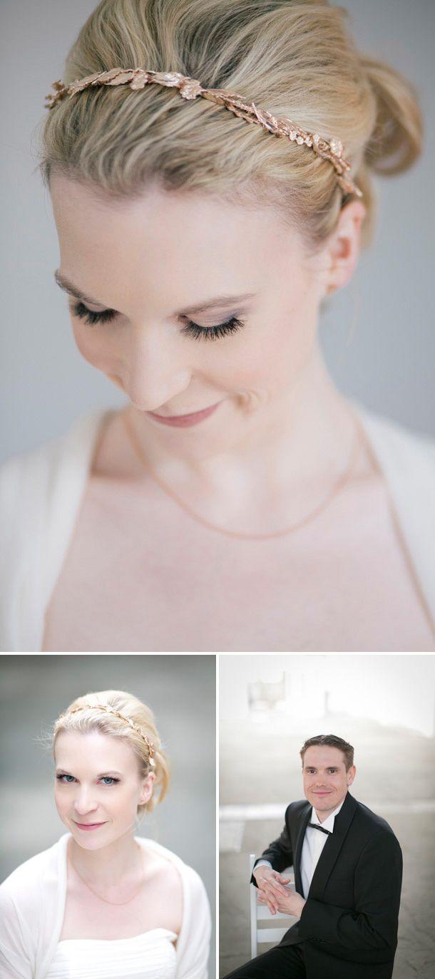 Düsseldorfer Lofthaus Hochzeit von Hanna Witte Fotografie. Schönes Braut-Make-up