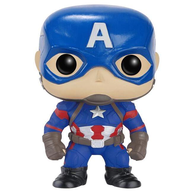 Statuetta decorativa Captain America del brand Funko collezione Pop!. Altezza: 10 cm circa.
