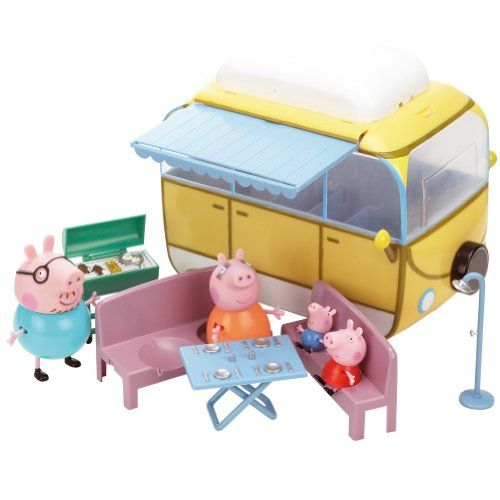 Peppa Pig 84211 – Autocaravana (Bandai) | Your #1 Source for Toys and Games