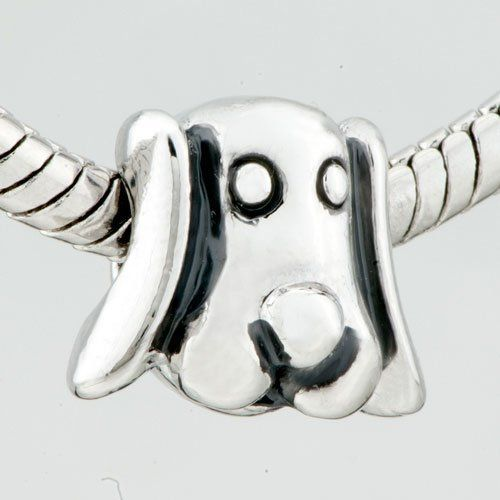 Pugster Cute Puppy Dog European Bead Fits Pandora Charm Bead Bracelet Pugster. $11.87. Unthreaded European story bracelet design. Free Jewerly Box. Pugster are adding new designs all the time. Fit Pandora, Biagi, and Chamilia Charm Bead Bracelets. Money-back Satisfaction Guarantee