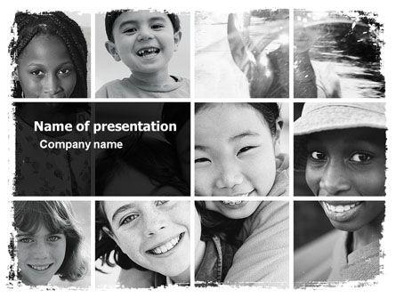 http://www.pptstar.com/powerpoint/template/kids-in-black-and-white-colors/ Kids In Black And White Colors Presentation Template