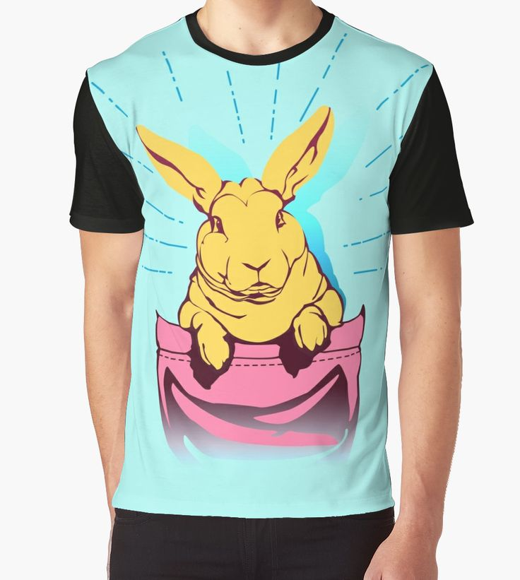 bunny rabbit in your pocket pet shirt by lu2k