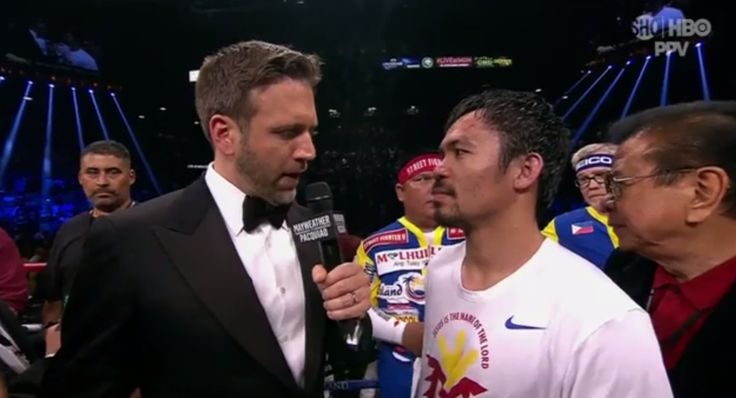 People are furious with HBO's Max Kellerman for grilling Manny Pacquiao