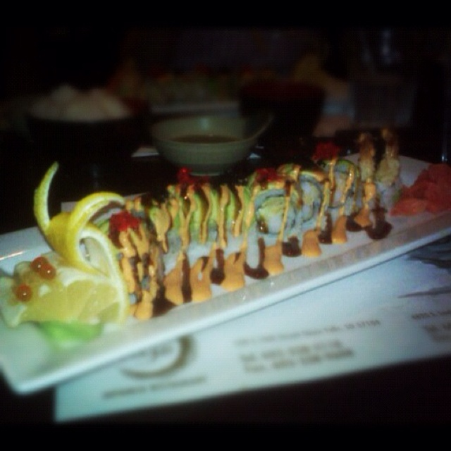 Sea dragon maki roll
