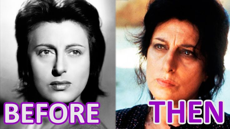 Woman and Time:  ANNA MAGNANI