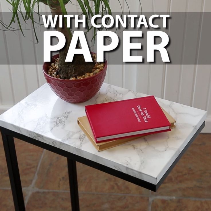 3 Ways to Dress Up Your Space With Contact Paper