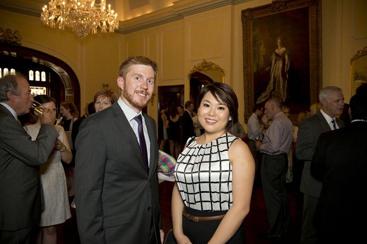 Michael Gurner (Study Adelaide) and Christina (Student Ambassador Uni of Adelaide)