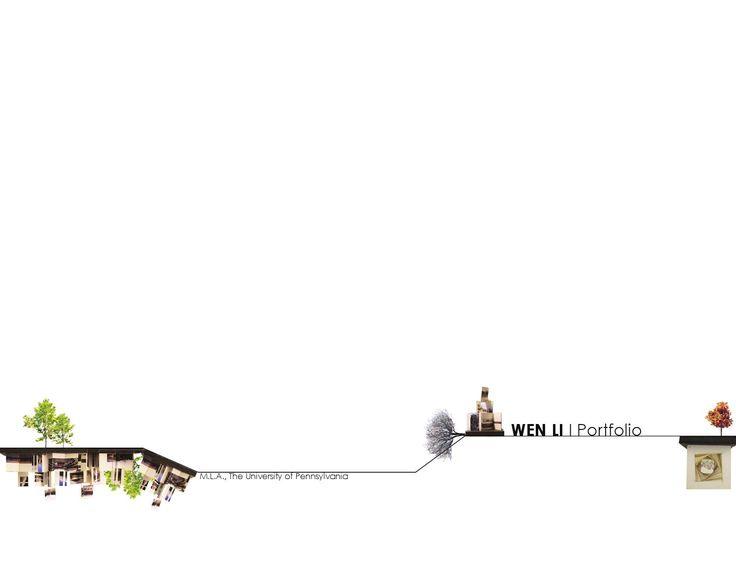 54 best PORTFOLIO LAYOUTS images on Pinterest Architecture