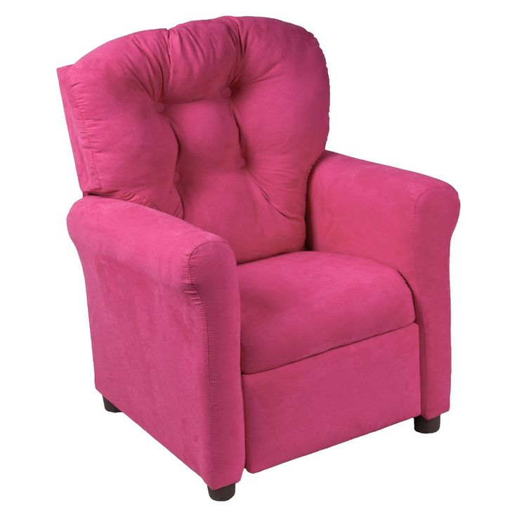Kids Traditional Reclining Chair