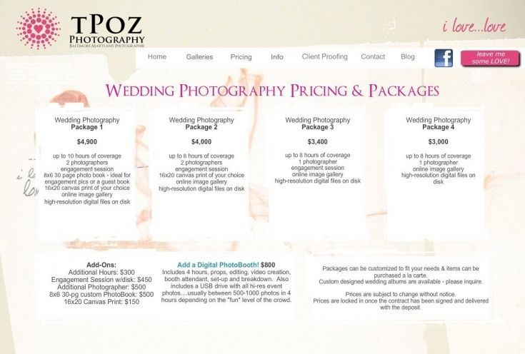 Wedding Photography Prices And Packages How Much Do For Wedding Photographer In 2020 Wedding Photography Pricing Wedding Photographer Prices Wedding Photographer Cost