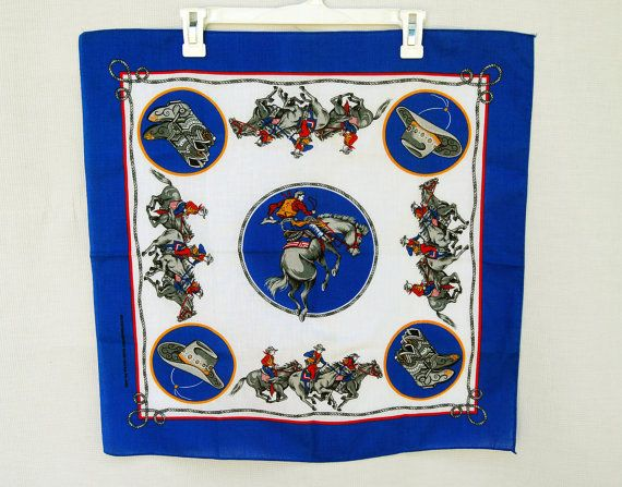 Western Bandanas Cowboy Hankies And Rodeo Scarves A
