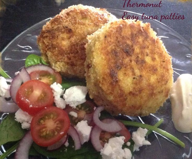 Recipe Easy tuna patties by Thermonut - Recipe of category Main dishes - fish