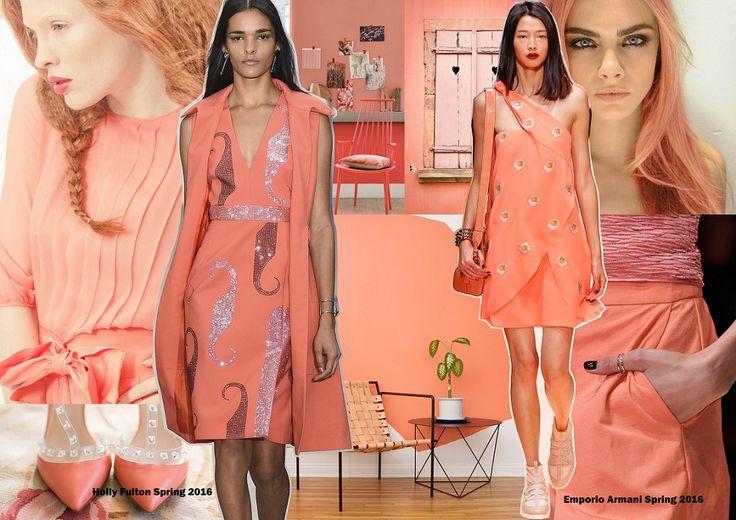 Color trends Spring 2016 - Peach Echo / Divatszínek 2016 tavasz - Hamvas barack