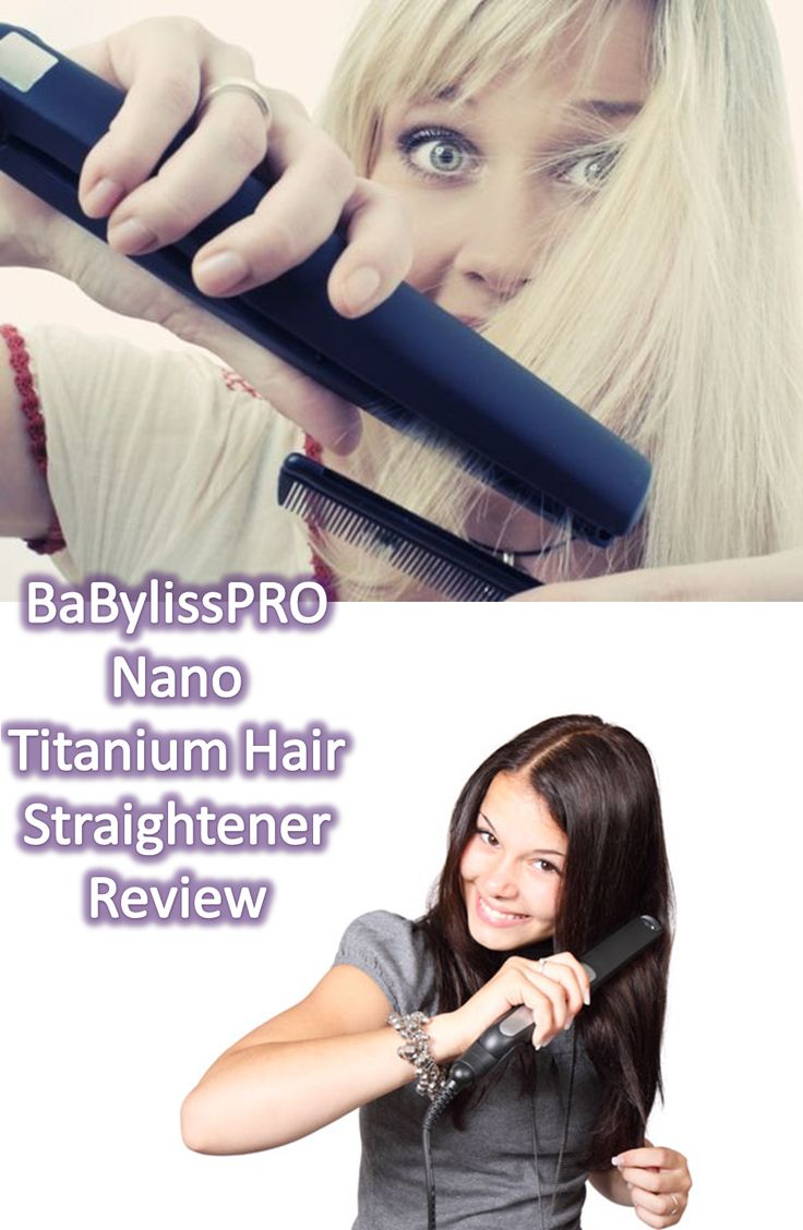 BaBylissPRO Nano Titanium Hair Straightener is one of the best choices in the market, great features with LED temperature settings. Plenty of heat and others features