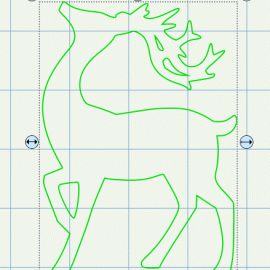 Reindeer SVG